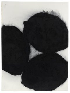 Donald Sultan (Abstract Drawings and Watercolours) - Black Lemons, 21 March 1985