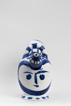 Pablo Picasso - Madoura Ceramic: Ice Pitcher (Pichet à glace)
