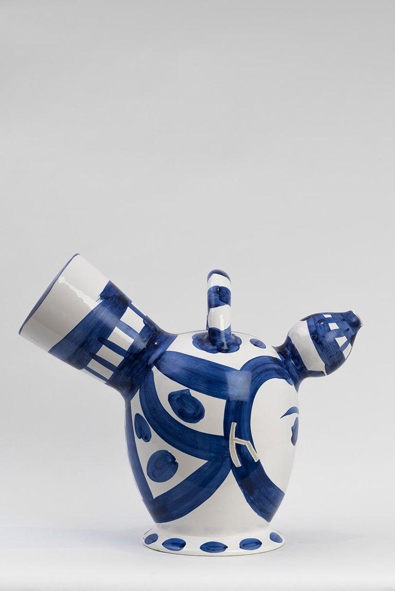 Pablo Picasso - Madoura Ceramic: Ice Pitcher (Pichet à glace) For Sale 1