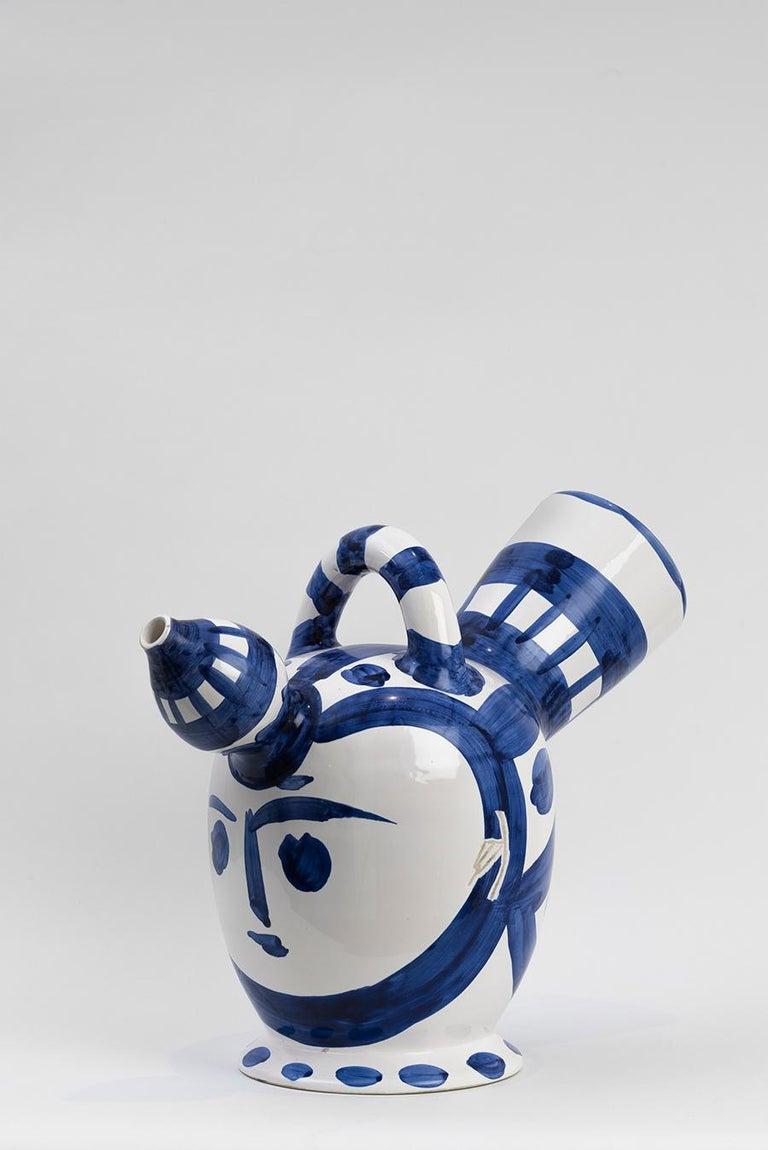 Pablo Picasso - Madoura Ceramic: Ice Pitcher (Pichet à glace) For Sale 2