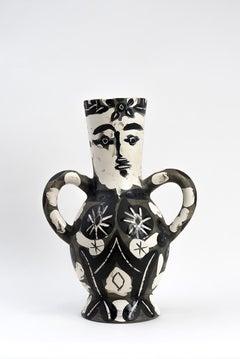 Vase with Two High Handles (Vase deux anses hautes)