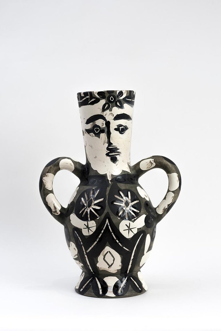 Vase with Two High Handles (Vase deux anses hautes)   - Art by Pablo Picasso