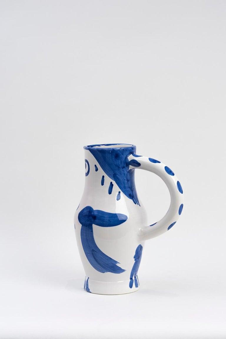 Pablo Picasso - Madoura Ceramic: Owl (Hibou) 1954 For Sale 1
