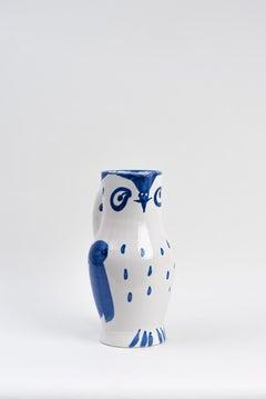 Pablo Picasso - Madoura Ceramic: Owl (Hibou) 1954