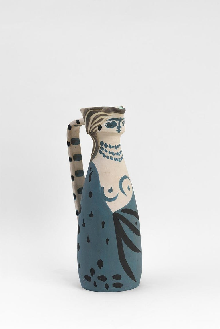 Pablo Picasso - Madoura Ceramic: Woman (Femme), 1955 For Sale 3