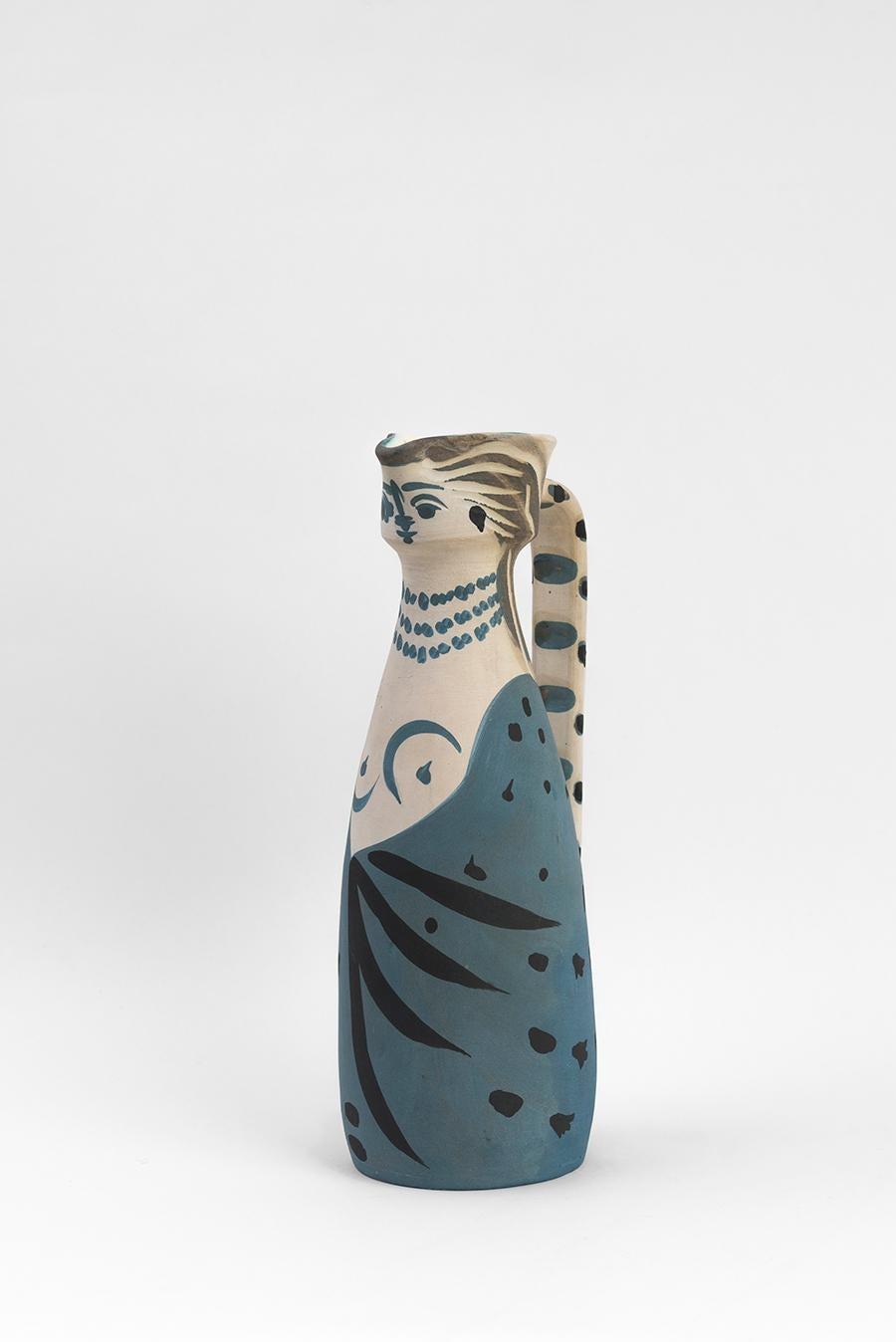 Pablo Picasso - Madoura Ceramic: Woman (Femme), 1955