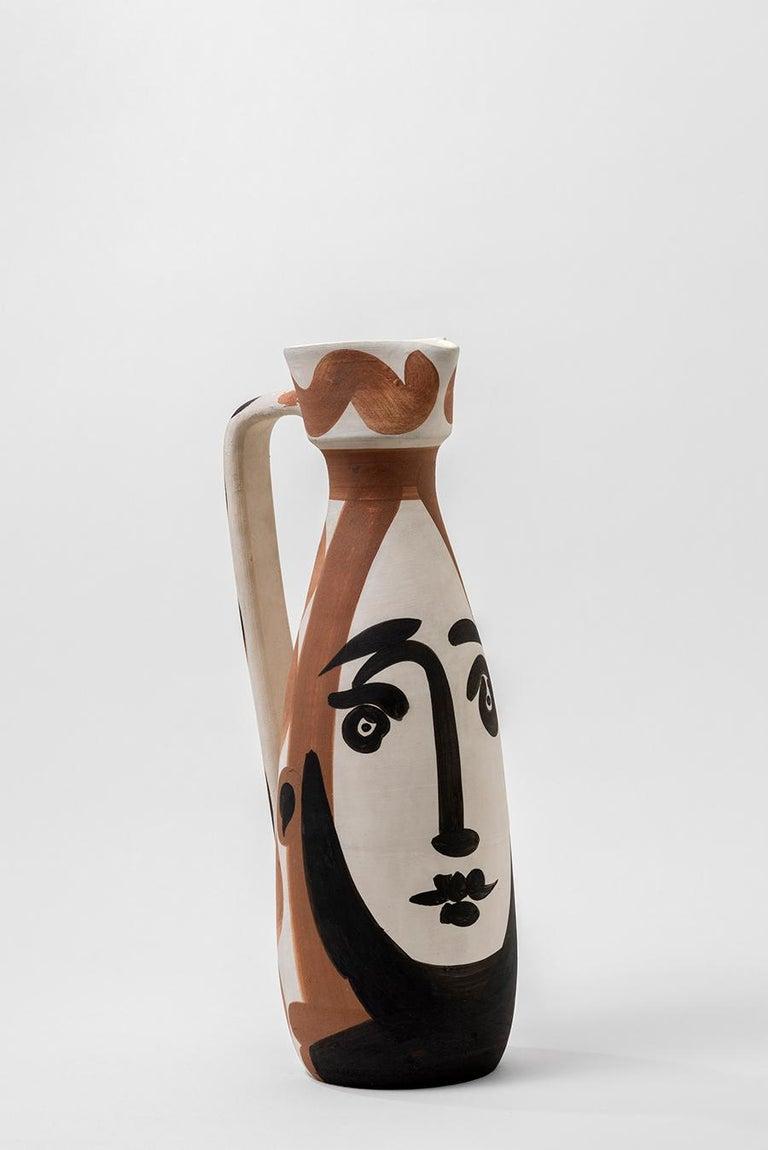 Pablo Picasso - Madoura Ceramic: Face (Visage) - Art by Pablo Picasso
