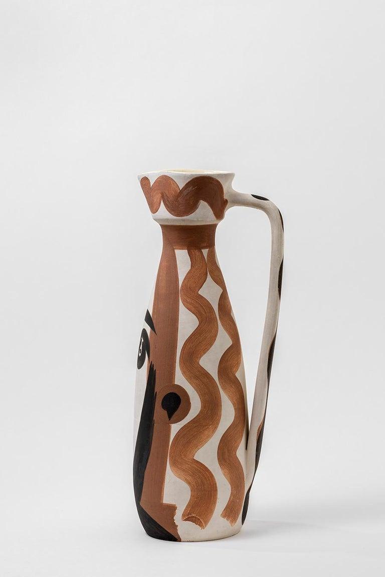 Pablo Picasso - Madoura Ceramic: Face (Visage) For Sale 2