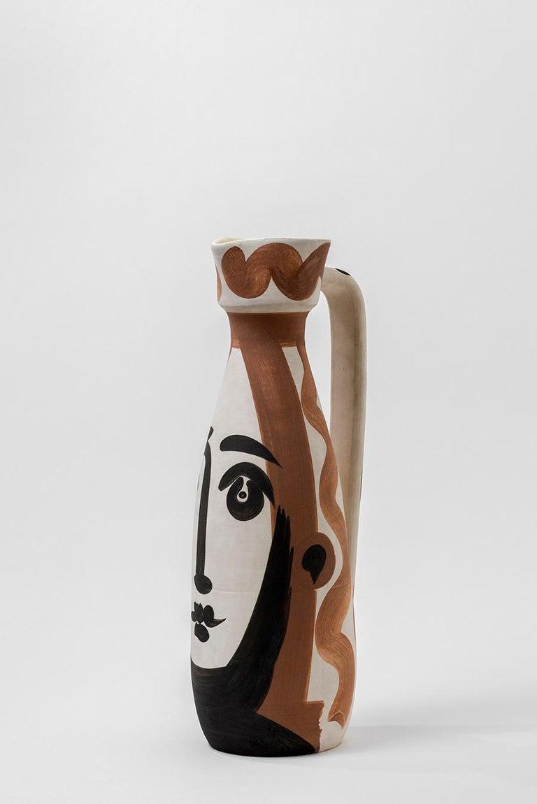 Pablo Picasso - Madoura Ceramic: Face (Visage) For Sale 3