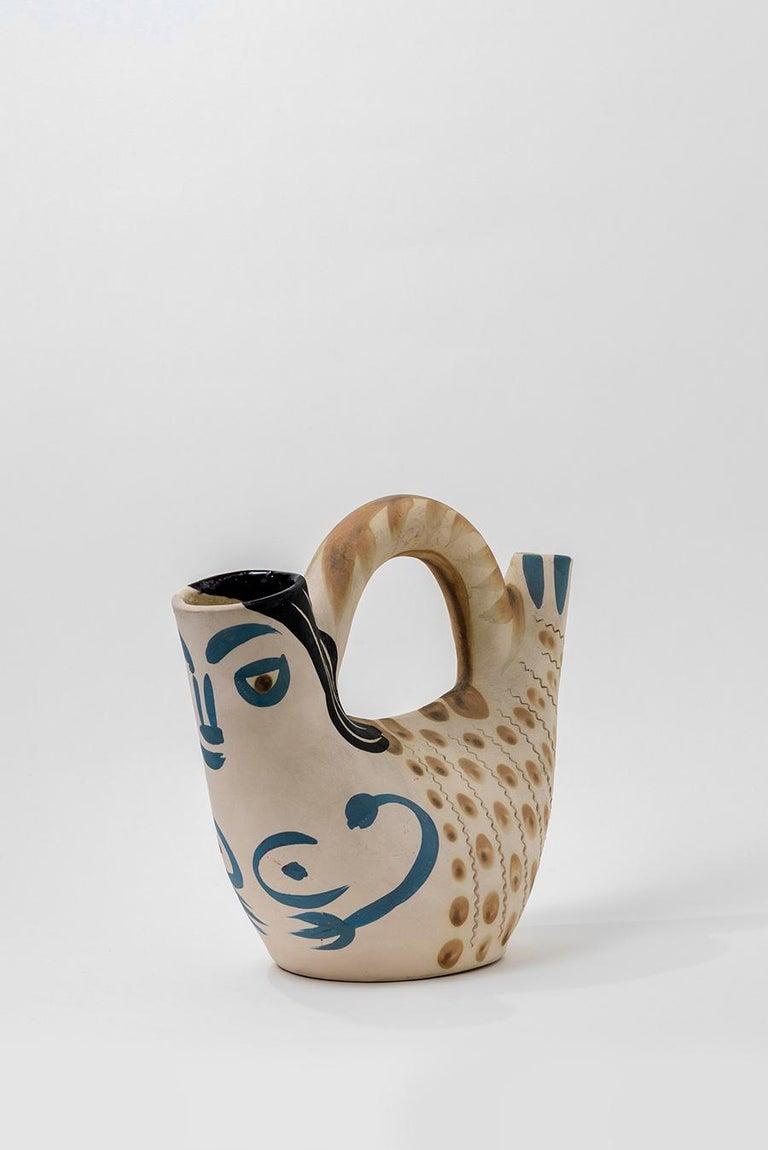 Pablo Picasso - Madoura Ceramic: Prow Figure (Figure de Proue) For Sale 1