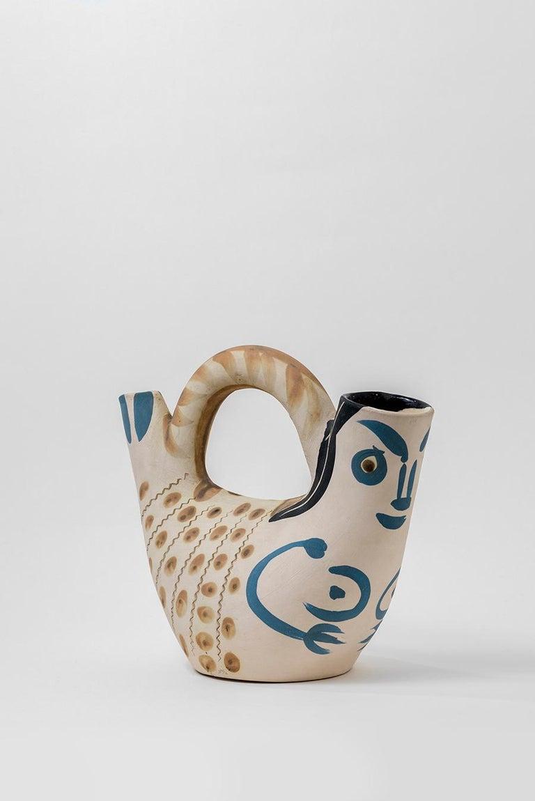 Pablo Picasso - Madoura Ceramic: Prow Figure (Figure de Proue) For Sale 3