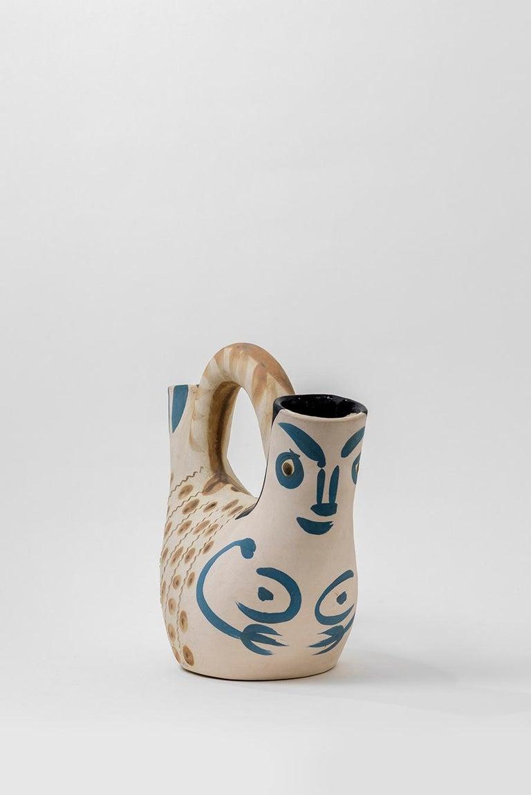 Pablo Picasso - Madoura Ceramic: Prow Figure (Figure de Proue) For Sale 4