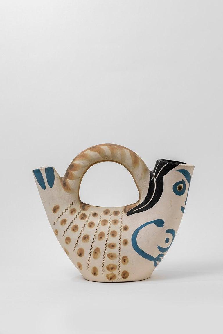 Pablo Picasso - Madoura Ceramic: Prow Figure (Figure de Proue) For Sale 6