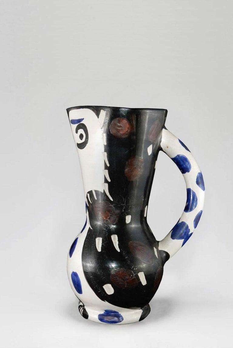 Pablo Picasso - Madoura Ceramic: Small Owl Jug (Petit Pichet de Hibou) For Sale 2