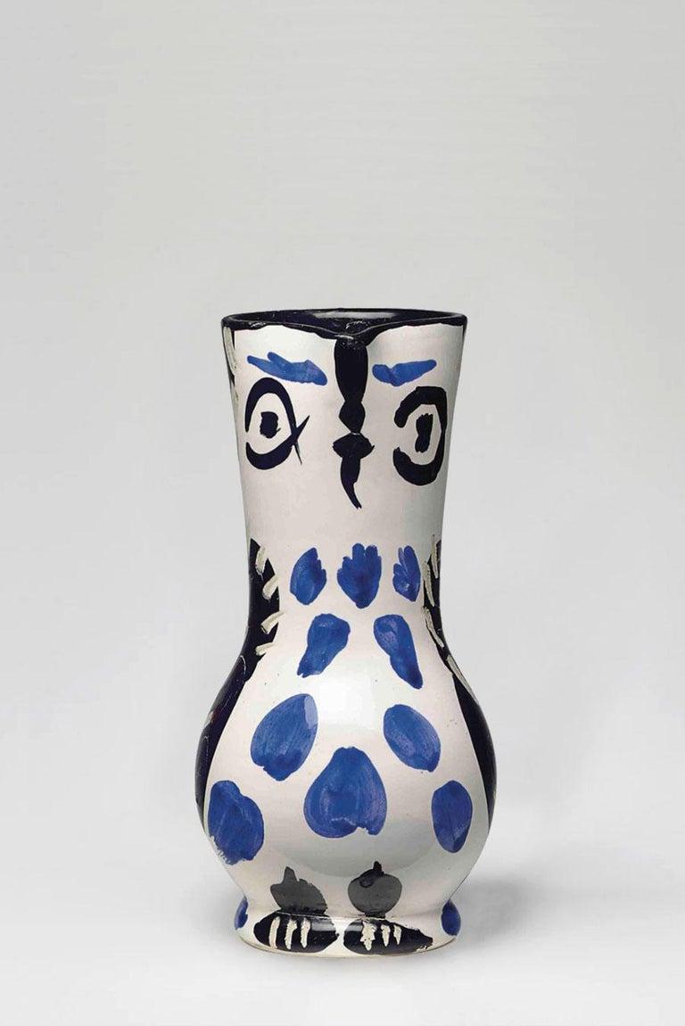 Pablo Picasso - Madoura Ceramic: Small Owl Jug (Petit Pichet de Hibou) - Art by Pablo Picasso