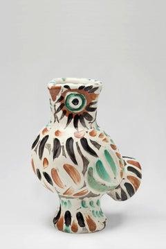 Pablo Picasso - Madoura Ceramic: Wood-Owl (Chouette)