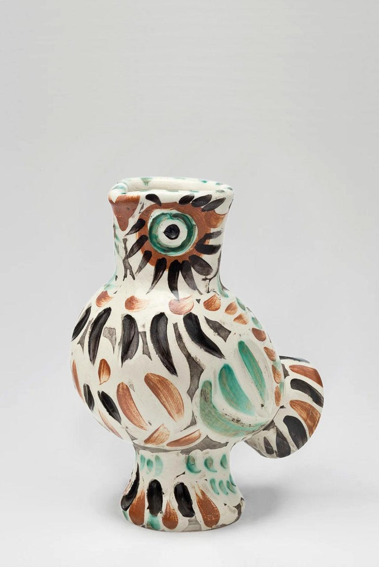 Pablo Picasso - Madoura Ceramic: Wood-Owl (Chouette) - Art by Pablo Picasso