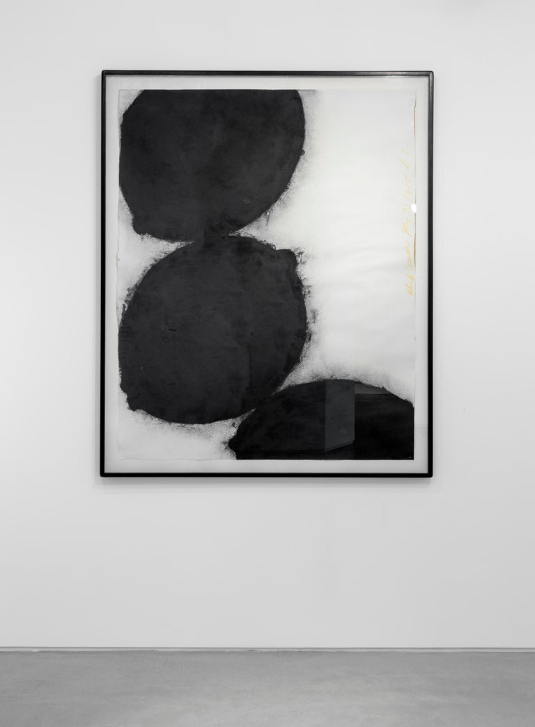 Black Lemons, 31 May 1985 - Donald Sultan (Abstract Drawings and Watercolours) - Contemporary Art by Donald Sultan