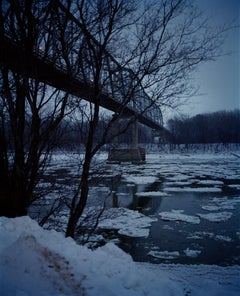 Omaha Sketchbook: Bridge (Evening), Omaha, NE, 2005-2018 - Photography