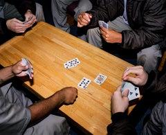 Omaha Sketchbook: Card Game, Nebraska, Correctional Youth Facility, Omaha, NE