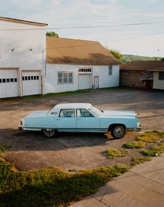 Omaha Sketchbook: Lincoln Continental, Omaha, NE - Contemporary Photography