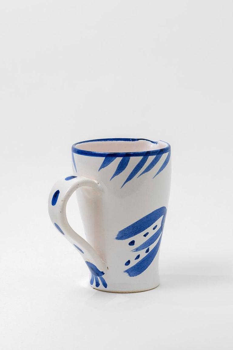 Pablo Picasso - Madoura Ceramic: Owl (Hibou) For Sale 4