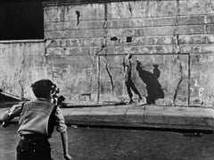 Footballer and Shadow, Southam Street, London, 1956
