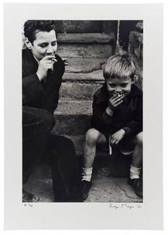 Boys Smoking, Southam St, N. Kensington, 1956 - Roger Mayne (Black and White)