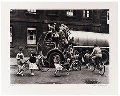 Children Around a Lorry, Cowcaddens, Glasgow, 1958