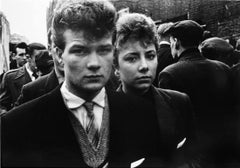 Teddy Boy and Girl, Petticoat Lane, 1956