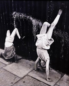 Handstand, Southam Street, London, 1956
