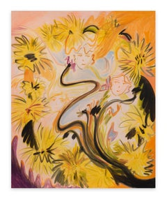 Dandelion Hairband, 2021 - Yulia Iosilzon (Painting)