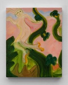 Escaping the Beanstalks' Dream, 2021 - Yulia Iosilzon (Painting)
