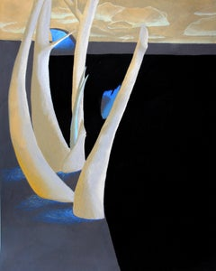 Anaemic Field, 2017 - Raphael Barratt (Painting)