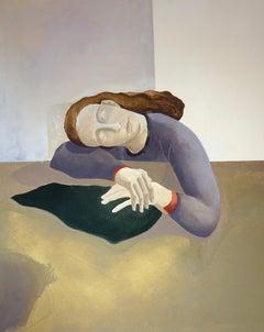 The Resting Lady, 2019 - Raphael Barratt (Painting)