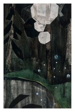 Last snow II, 2021 - Iris Schomaker (Watercolour)