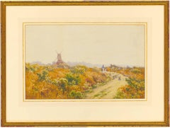 Harry E. James - Early 20th Century English Watercolour, Waltham Common, Lincoln