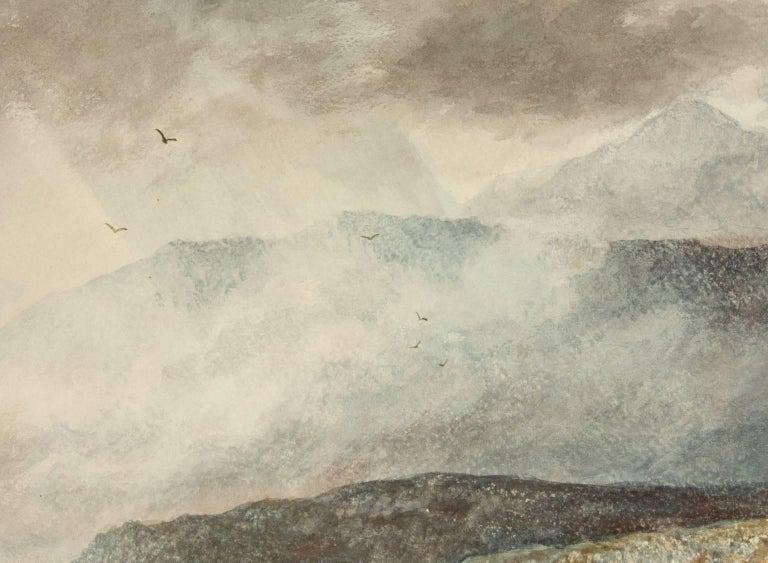 Attributed to Alfred H. Green - 19th Century Watercolour, Scottish Highlands - Victorian Painting by Alfred H. Green
