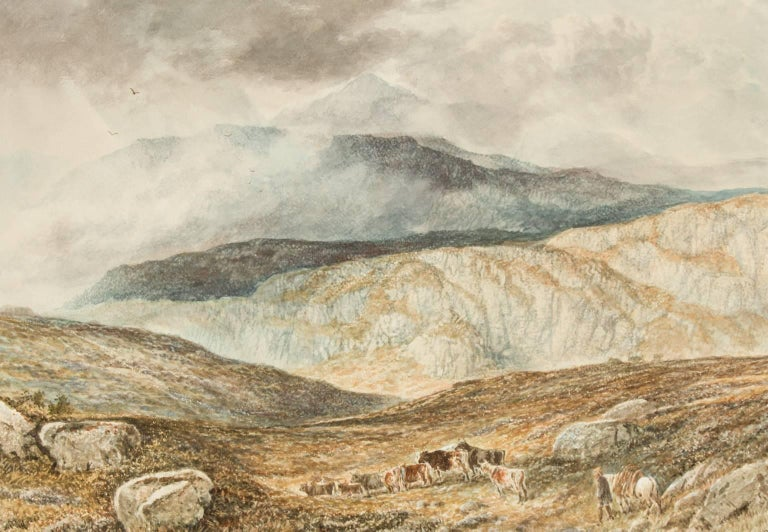 Attributed to Alfred H. Green - 19th Century Watercolour, Scottish Highlands For Sale 2