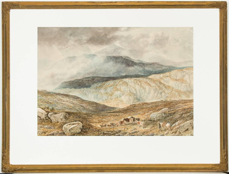 Attributed to Alfred H. Green - 19th Century Watercolour, Scottish Highlands - Painting by Alfred H. Green