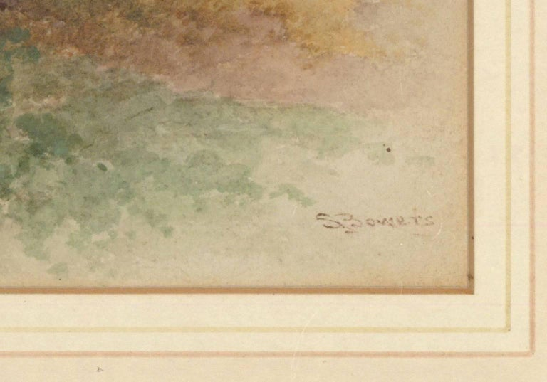 Stephen James Bowers (fl.1874-1892) - Two English Watercolours, Rural Landscapes For Sale 2