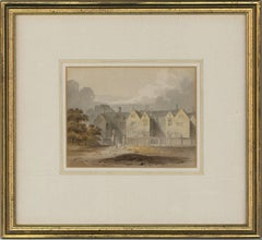 Attributed to John Chessell Buckler (1793-1894) - English Watercolour,