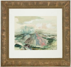 Post-War Landscape Drawings and Watercolors
