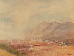 Terence John McCaw (1913-1978) - Signed 1974 Watercolour, South African Mountain