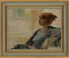 Christopher Alexander (1926-1982) - 20th Century Oil, Portrait of a Lady