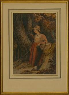 Mary Elizabeth Bateman - 1812 English Watercolour, Returning From Market
