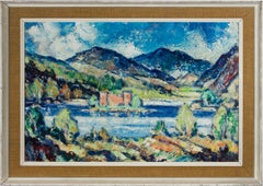William Walker Telfer FIAL (1907-1960) - Mid 20th Century Oil, Loch An Eilein