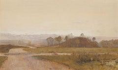 John William North RWS, ARA (1842-1924) - 1872 Watercolour, Idyllic England