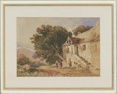 David Hall Mckewan RI (1816-1872) - Mid 19th Century Watercolour, Stone Cottage