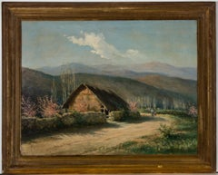 F. Vial - Signed and Framed 1916 Oil, Landscape in Chile